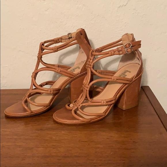 Sigerson Morrison Shoes - Block heel leather sandals